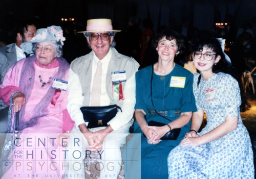 Marion White McPherson, John A. Popplestone, Sharon Ochsenhirt, and Dorothy Gruich at the annual APA Meeting in ____