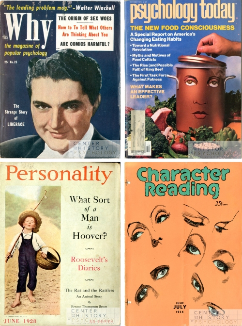 Why, 1954 Psychology Today, 1978 Personality, 1928 Character Reading, 1936