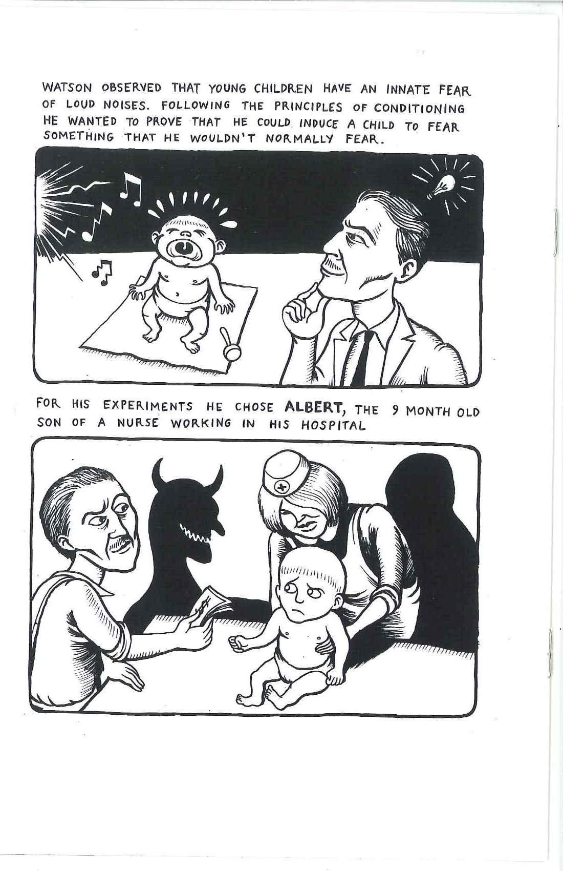 little albert John b watson (1878-1958) was an american psychologist that founded the school of behaviorism watson was not interested in.