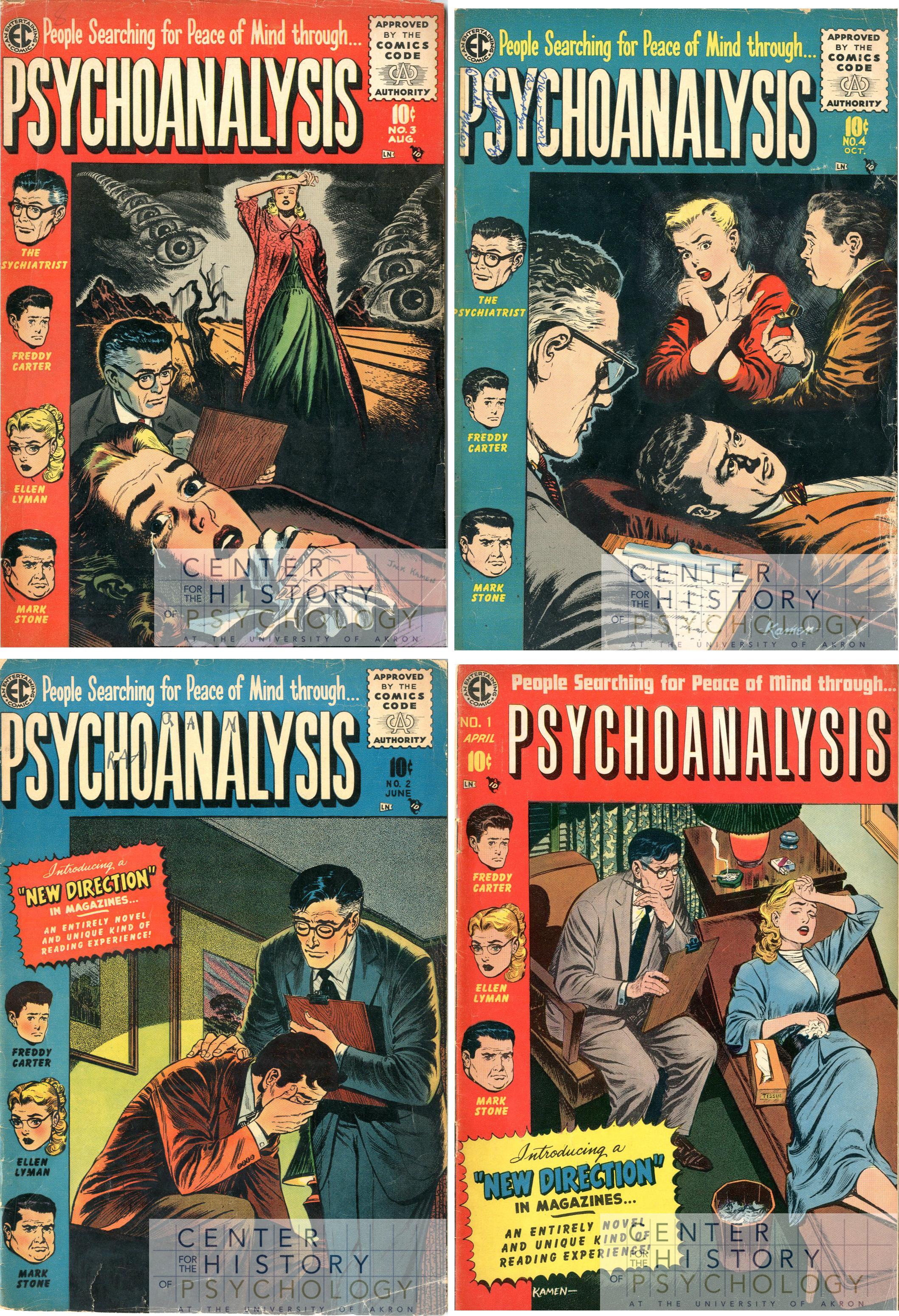 Psychoanalysis, 1955