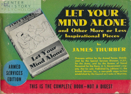 Let Your Mind Alone (front cover)
