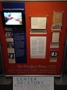 Exhibit in CHP Psychology Museum