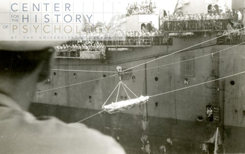 wounded coming aboard