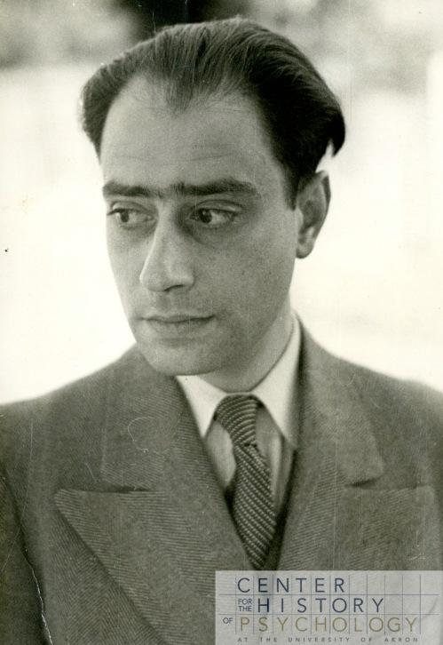 Werner Wolff portrait, 1944.  Box M4844, Folder 1.