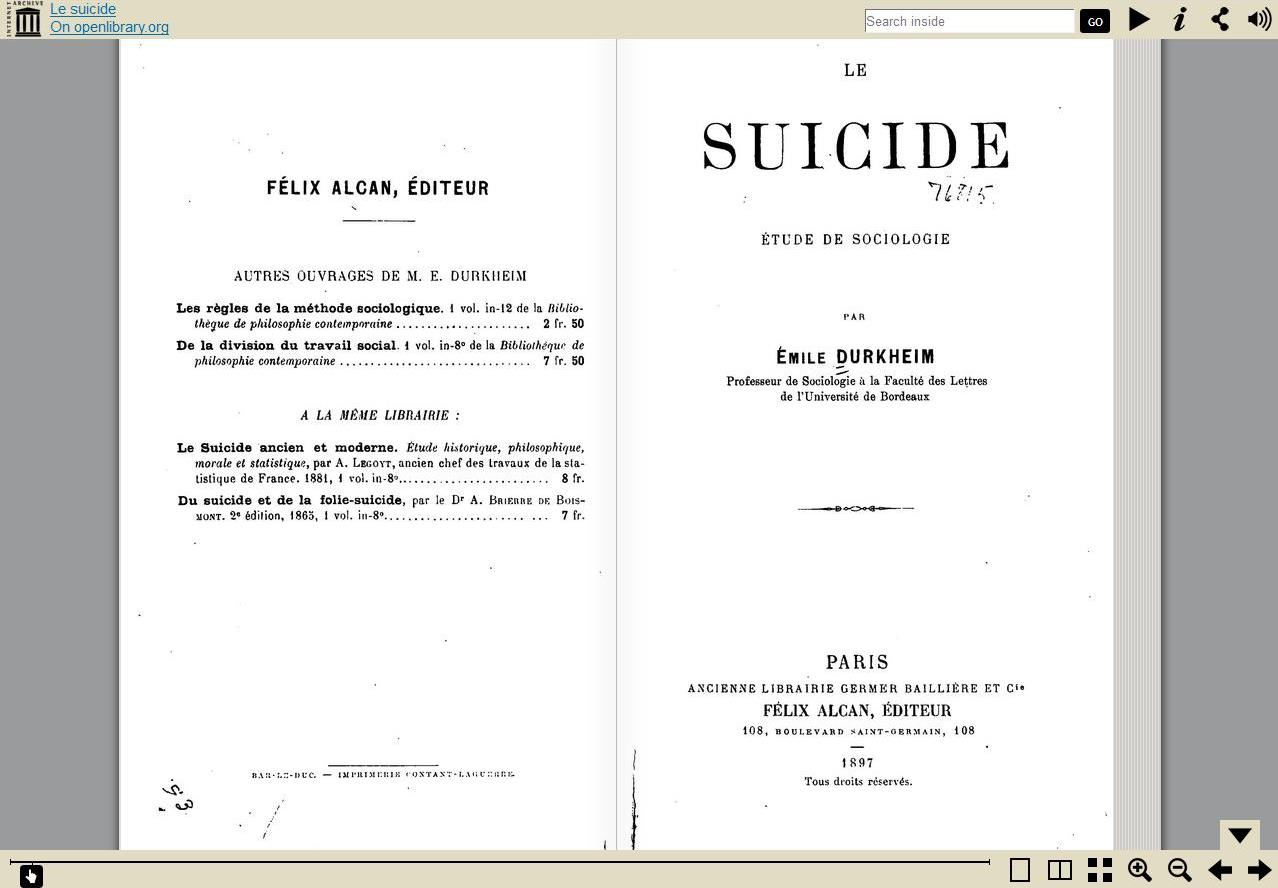 emile durkheim suicide essay Check out our top free essays on durkheim suicide to help you write your own essay.