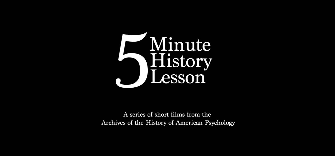 Introducing 5 Minute History Lesson | Cummings Center Blog