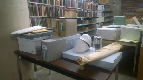 Some CCHP materials already gathered for the archives.