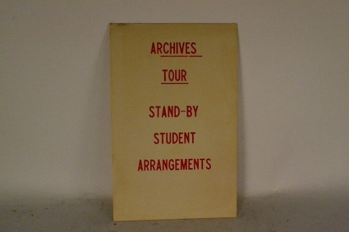 AHAP Tour Sign