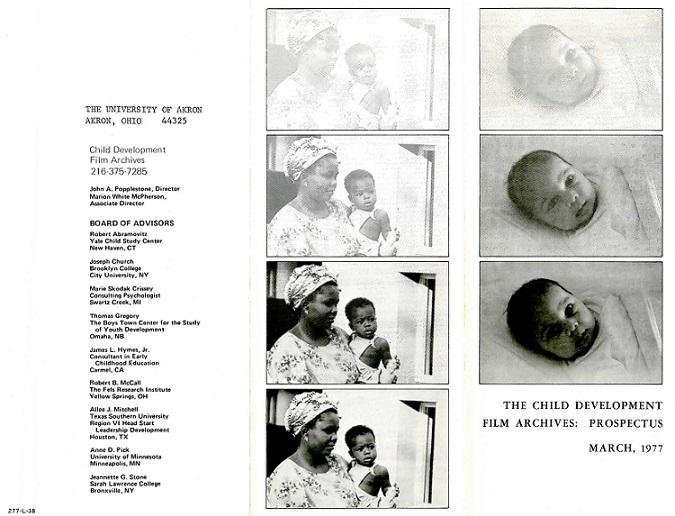Film Archives Pamphlet