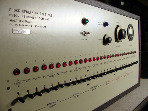 Milgram Simulated Shock Generator Smaller