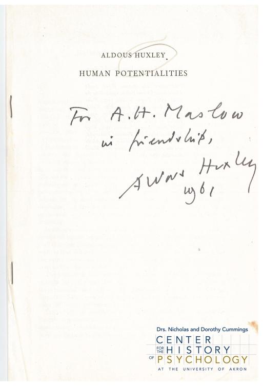 Maslow_M4413_folder7 (Huxley pamphlet)