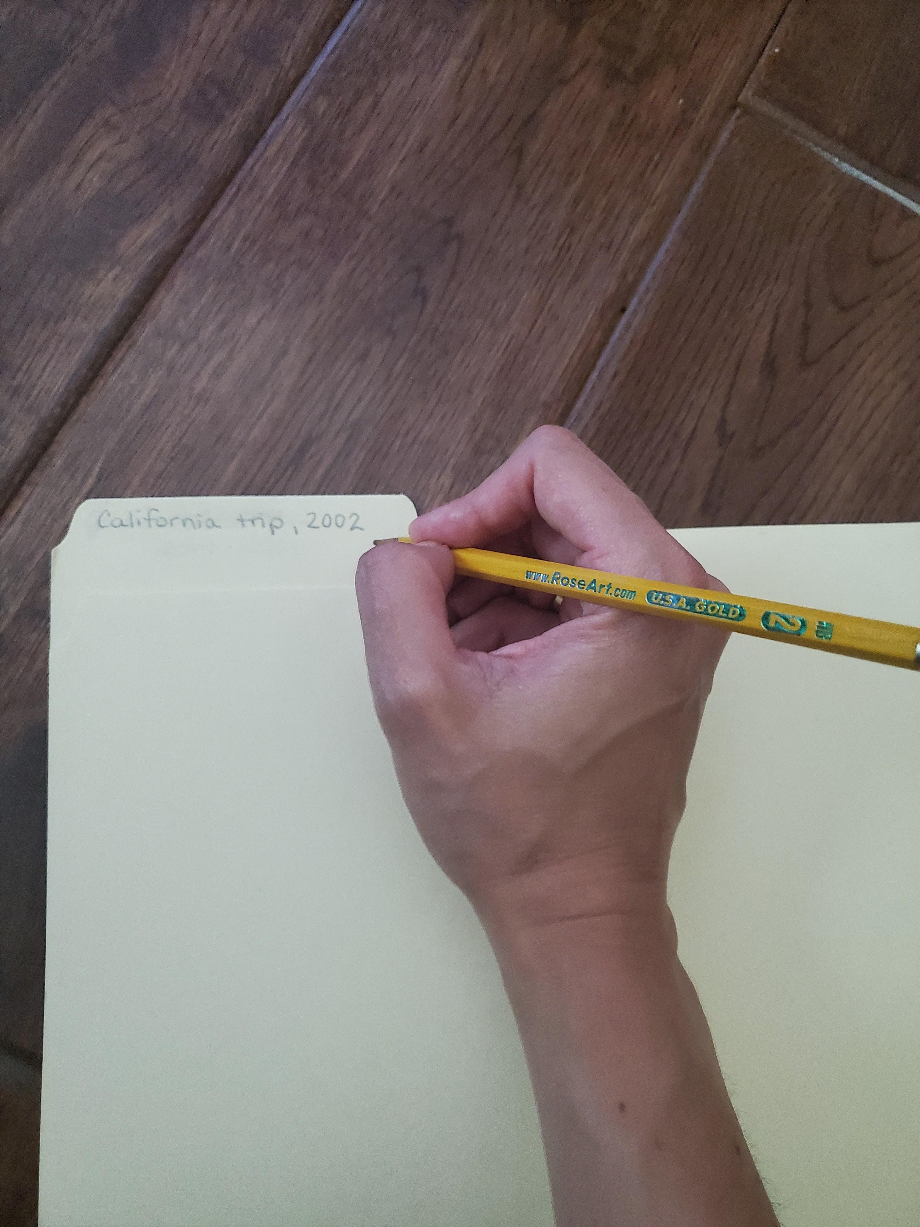 Labeling a folder